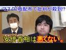 【布マスク】マスクを2枚ずつ全世帯に配布する安倍首相は評価します。【アベノマスク】