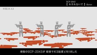 SCP-2043【わすれないで】ゆっくり解説