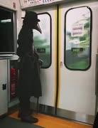 電車でコロナ完全防備の人物現る 他2本