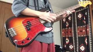 【弾いてみた】ワールズエンド・ダンスホール bass cover【Re Take】