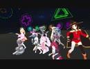 VRChat これは... MMDの娘達が踊っているのを目の前で見ることができる世界(30)