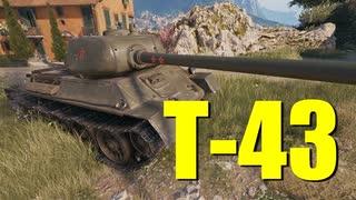 【WoT:T-43】ゆっくり実況でおくる戦車戦Part705 byアラモンド