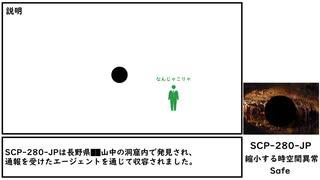 【ゆっくり紹介】SCP-280-JP【縮小する時空間異常】