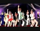 【悠久幻想曲】メインキャラ全員で バブリーダンス【KKVMD】