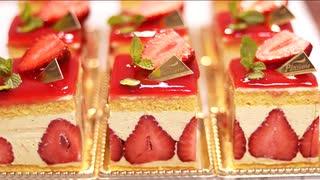 フランス版ショートケーキ?【フレジェ】