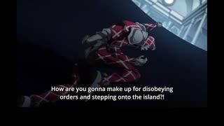 ジョジョの奇妙な冒険GW 英語吹替版 第21話 Grazie a Dio! You're okay!