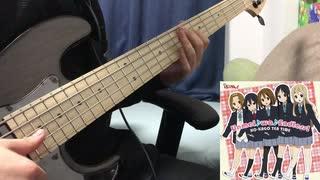 【映画けいおん!】Unmei♪wa♪Endless! をベースで弾いてみた