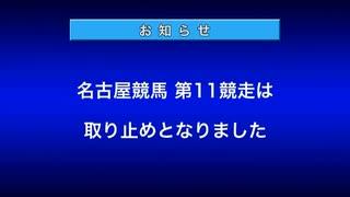 【名古屋競馬】カンパイ→取り止めでしたが…【2020年4月10日11R】