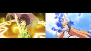 【比較動画】プリンセスコネクトopアニメ