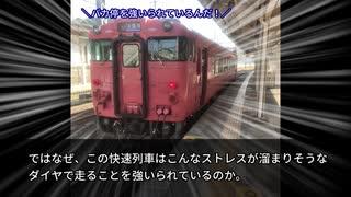 【迷列車で行こう】快くも速くもない【ど
