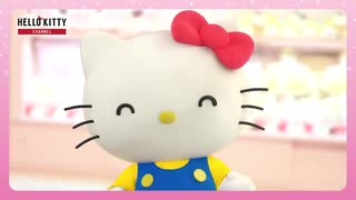 キティちゃんがノリノリで「すっぽんぽん」と連呼するだけの動画