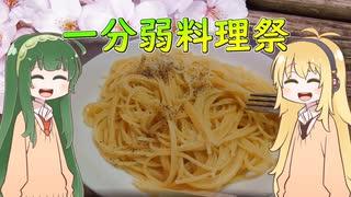 マキずんパスタ【あつまれ!1分弱料理祭】