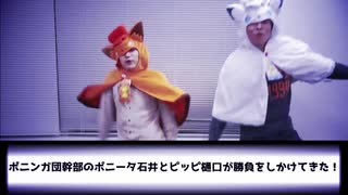 戦闘!ポニンガ団幹部【動画付き】