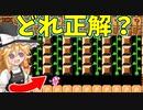 【ゆっくり実況】騙しまくりなトロールコース!正解はどれだッ!?【Super Mario Maker 2】