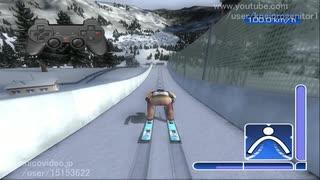 [アシストプレイ]スキージャンプゲーム