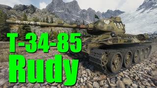 【WoT:T-34-85 Rudy】ゆっくり実況でおくる戦車戦Part715 byアラモンド