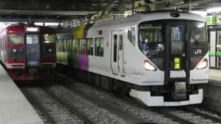 E257系が使用されていた快速列車【E257系