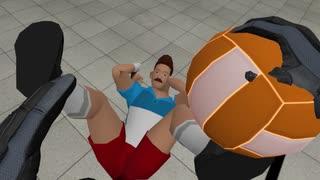 『VRドッジボール』で勝つ為には、オレは手段を選んだりしない!!
