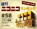 週刊ニコニコランキング #58