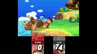 【3DSTAS】 スマブラ for 3DS むらびと 試