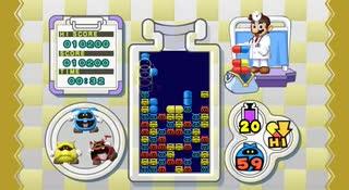 【Wii TAS】ドクターマリオ Lv20 2:02