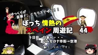 【ゆっくり】スペイン周遊記 44 ターキッシュエアラインズで日本に帰る