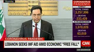 レバノンがIMFに支援要請...1ドル4千リラ