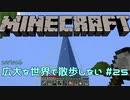 【実況プレイ】広大な世界で散歩しない【Minecraft】【第六回】#25