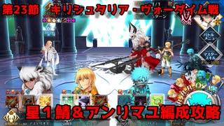 【FGO】異聞帯vs汎人類史 星0,1鯖編成【