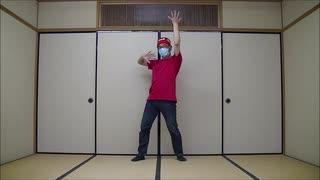「キラフル ミラクル キラメイジャー」をフルサイズで踊ってみた【赤Tシャツ】