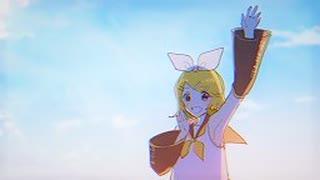【オリジナル曲】夜明け前/鏡音リン【PV】