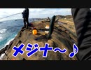 千葉県南房総の地磯でメジナ釣り!【もっち釣動組合♯72】