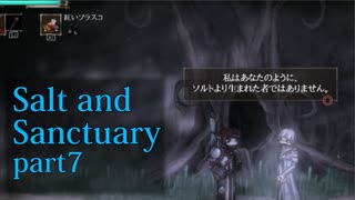 【Salt_and_Sanctuary】2D世界の呪われた