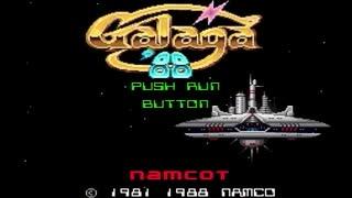 【実況】STG苦手だが「ギャラガ'88(PCエンジン版)」をやる Part1【PCE企画第14弾】