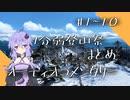 【1分弱登山祭】#1~#10まとめ補足【オーディオコメンタリー】