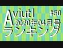 月刊AviUtlランキング 2020年04月号 #50
