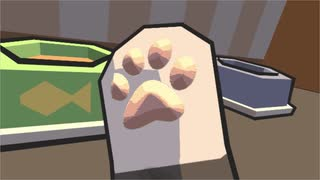 VRで美食にこだわるネコになりました。