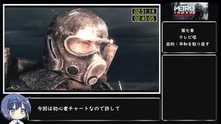 【CeVIO RTA】Metro 2033 Redux(PS4) Any%  2時間51分14秒 part Final