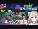#2【Nintendo Switch】あつまれ どうぶつの森で癒される!! キャンプ開設【あつ森】