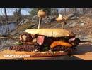 ステーキ&ベーコン・ホタテ サンドイッチ