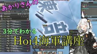 【Hoi4】3分でわかるHoi4海軍講座