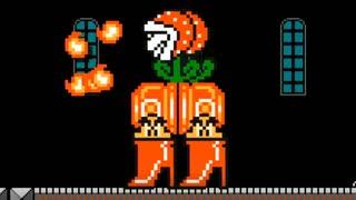 マリオメーカー2:巨大ロボ的な何かがボスのコースをプレイ!