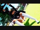 【MMD習作】パチュリーちゃんの公園遊び【ぱんつ注意】