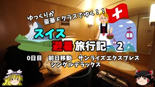 【ゆっくり】スイス旅行記 2 サンライズ