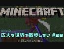 【実況プレイ】広大な世界で散歩しない【Minecraft】【第六回】#28