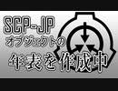 【SCP-JP】財団職員ではないが日本支部オブジェクトに関する年表を作成中というお知らせ +おまけ【VOICEROID】