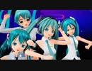 【MMD】4人化カメラ自作 イージーデンス 初音ミク Ray-MMD 【MikuMikuDance】悠々杯3nd参加作品
