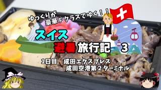 【ゆっくり】スイス旅行記 3 成田エクス