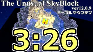 The Unusual Skyblock ver12.0.9 テーブル