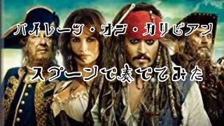 【ヨーホー】彼こそが海賊  スプーンで奏